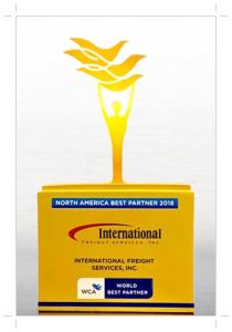 "Voted as ""North America Best Partner"""